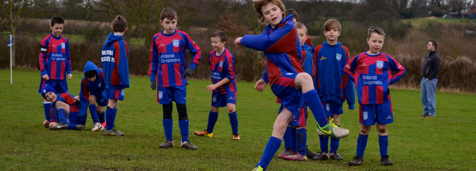 Website design for junior football clubs