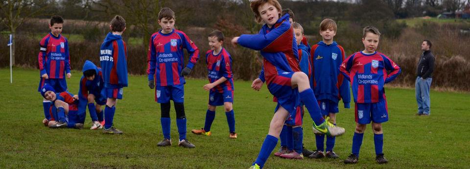 Website design for junior football clubs